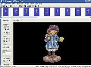 Object Modeller Pro (3D models from images), Shareware, Windows, Macintosh, other