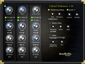 Cab Enhancer AcmeBarGig, Freeware, Windows