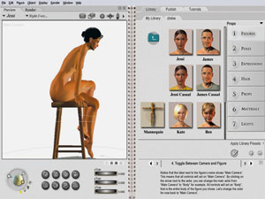 Figure Artist - Poser PRO, Shareware, Windows, Macintosh, other