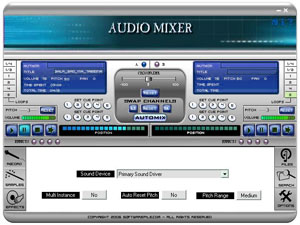 Free Audio DJ Mixer, Freeware, Windows