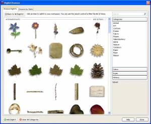 Digital Scrapbook Artist 2d Software Windows Freeware Serif Europe Ltd Download