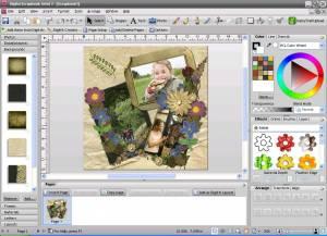 Digital Scrapbook Artist 2d Software Windows Freeware Serif Europe Ltd Download