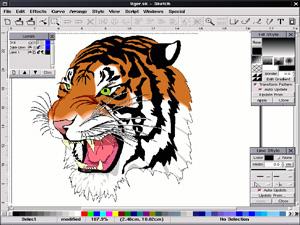 Skencil Gnu Linux Unix 2d Software Windows Macintosh Other Freeware Gnu Library General Download