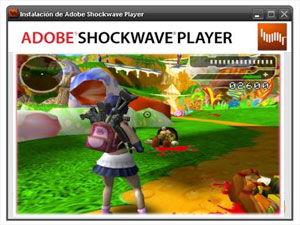 HTML link: Adobe Shockwave Player, 3D Software, Freeware