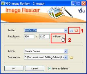 VSO Image Resizer, Freeware, Windows