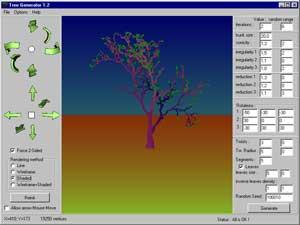 Treegenerator 3d Software Windows Freeware Nicolas