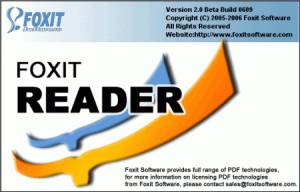 Foxit Reader, Freeware, Windows, Macintosh, other